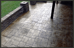 Stamped Concrete | Aliquippa, PA | All About Concrete | 724-683-7314