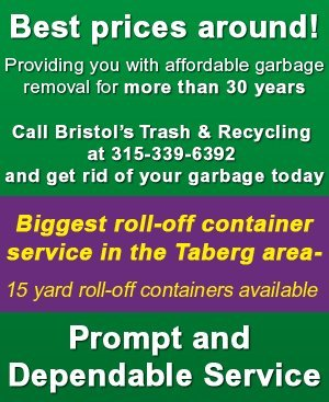 Waste Management Services  - Taberg, NY  - Bristol's Trash & Recycling