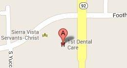 1st Dental Care LLC 1150 Highway 92, Ste. A Sierra Vista, AZ 85635