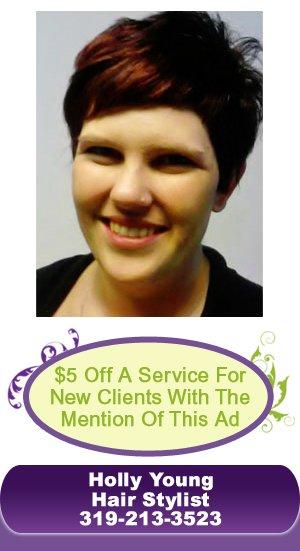 Hair Stylist - Cedar Rapids, IA - Blush Salon & Spa