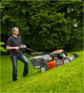 Lawn mower product sample