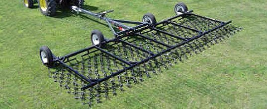 Harrow cart