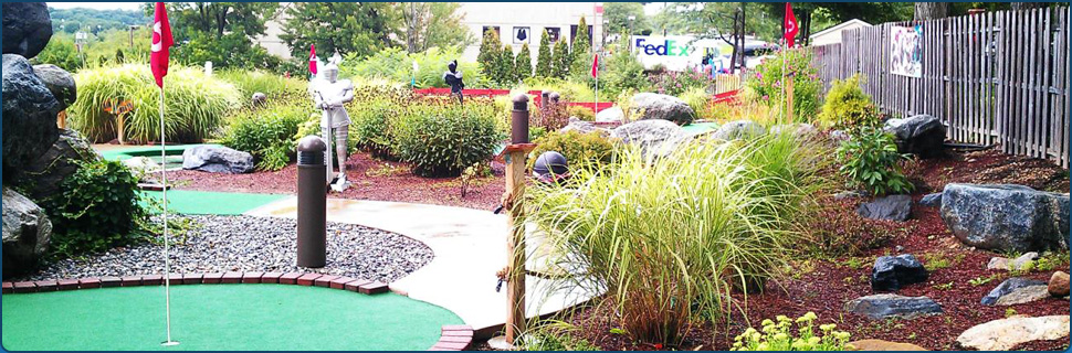 Mini golf course | Lake Hopatcong, NJ | Castle Cove Mini Golf & Arcade | 973-891-1248