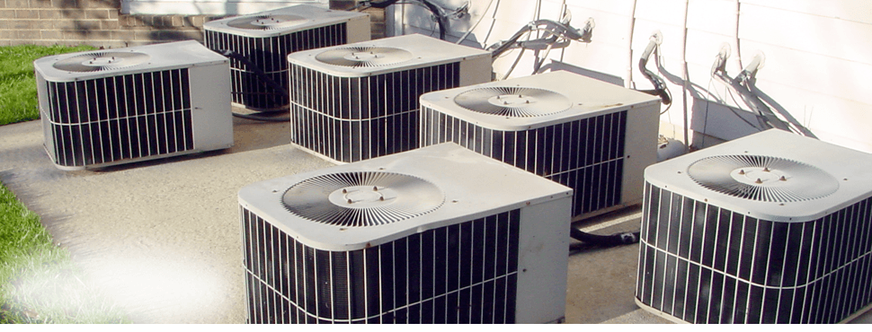 Commercial air conditioner units