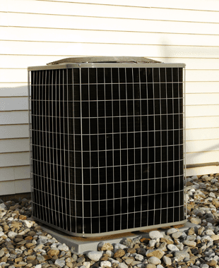 Airconditioning unit kept outside