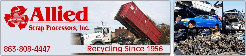 Scrap Metal - Lakeland, FL - Allied Scrap Processors, Inc.
