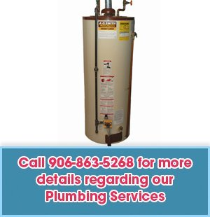 Plumbing - Menominee, MI - Long Heating & Cooling Inc - Plumber - Call 906-863-5268 For more  details regarding our Plumbing Services
