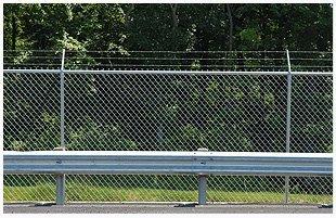 Custom chain link fence