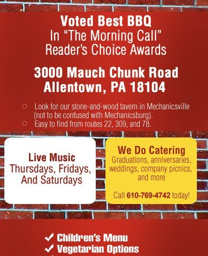 Grumpy's Bar-B-Que Roadhouse - Restaurant - Allentown, PA