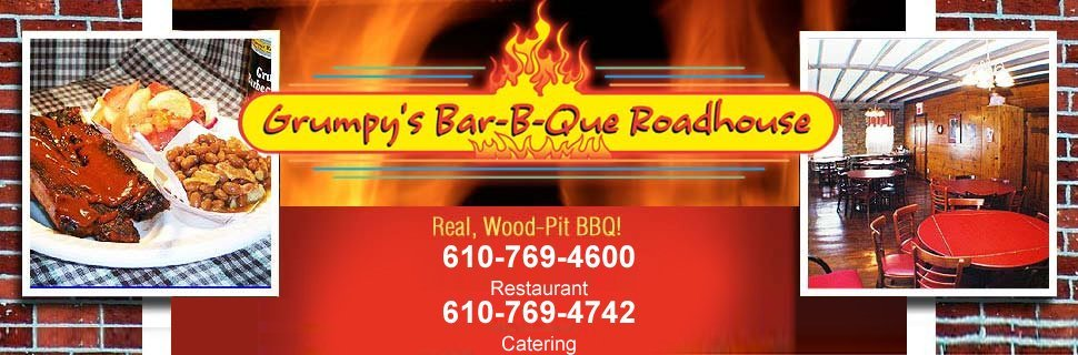 Restaurant - Allentown, PA - Grumpy's Bar-B-Que Roadhouse