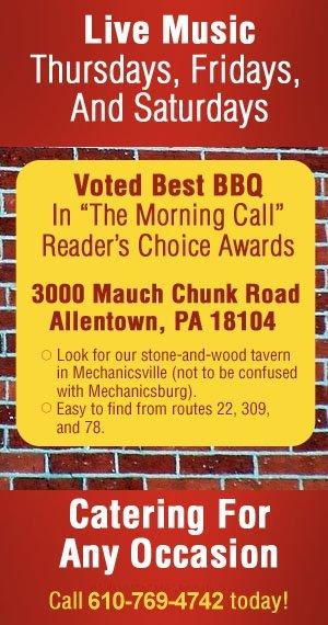 Live Music - Allentown, PA - Grumpy's Bar-B-Que Roadhouse