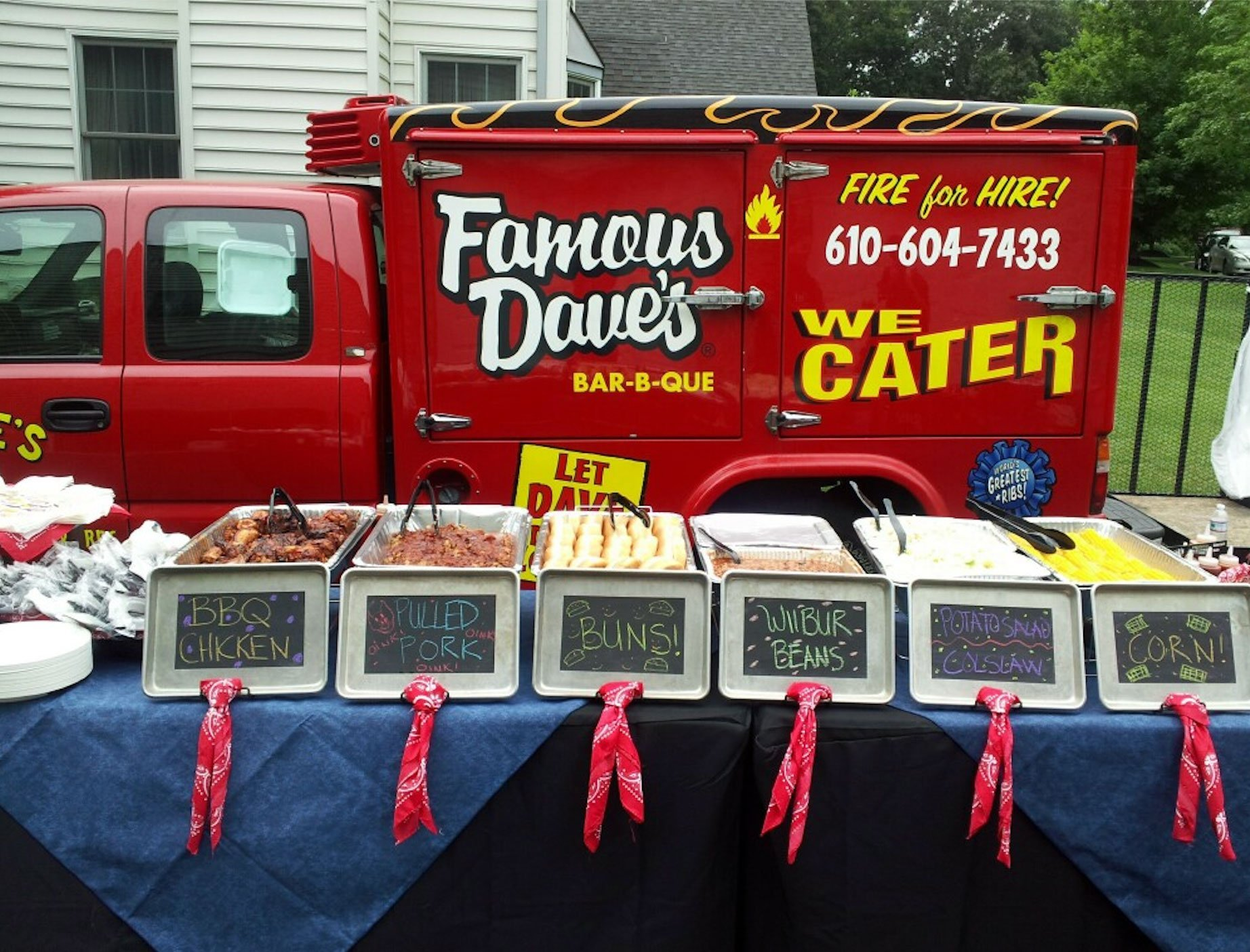 Famous Dave's Catered Food and Truck