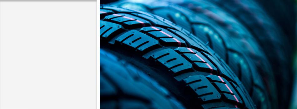 A truck's tire