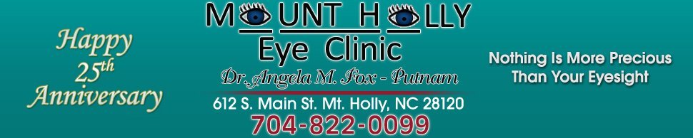 Eye Doctor Mount Holly, NC - Mount Holly Eye Clinic OD, PA / Dr. Angela Fox-Putnam