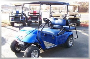 Brand new golf car