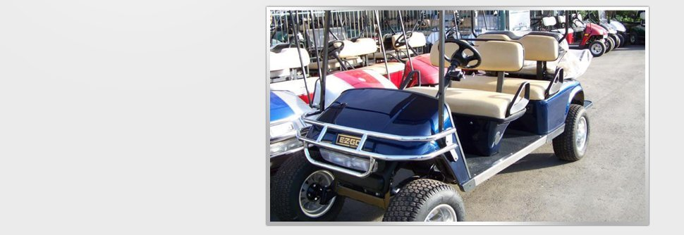 Golf cars for rent