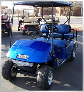 Golf car part replacements