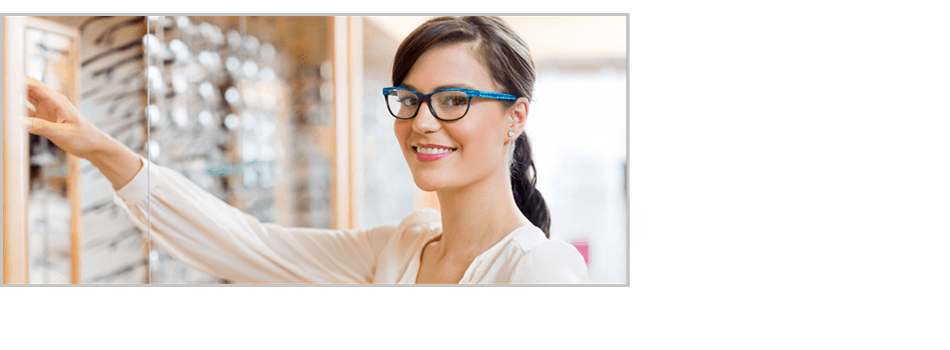 Female caucasian wearing nice eyeglass