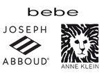 Bebe, Joseph Abboud & Anne Klein