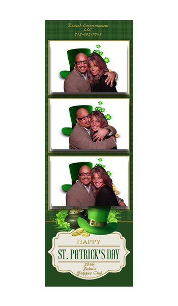 st pattys day photobooth