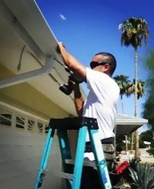 Seamless rain gutters | Glendale, AZ | Precision Gutters | 623-910-2810