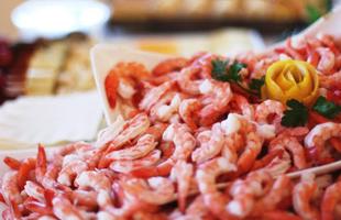 Del Monte Meats shrimps