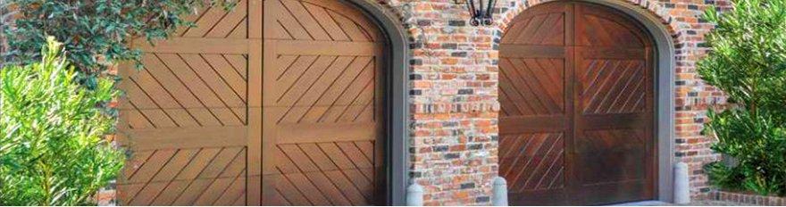 Residential signature garage door