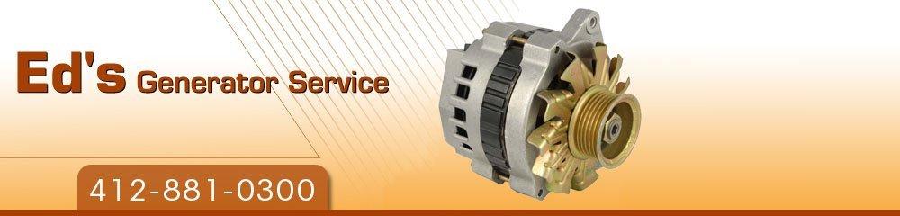 Generator Repair Pittsburgh, PA - Ed's Generator Service