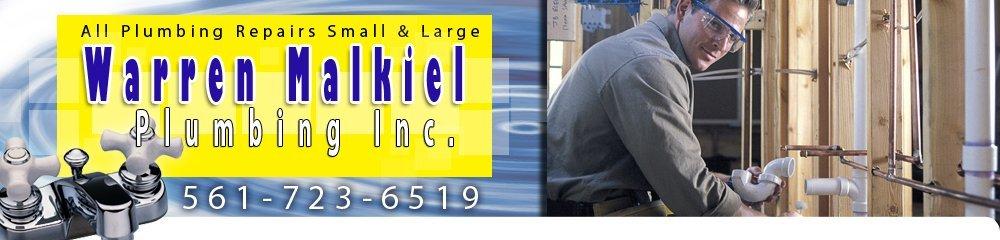 Plumbing - Boca Raton, FL - Warren Malkiel Plumbing Inc.