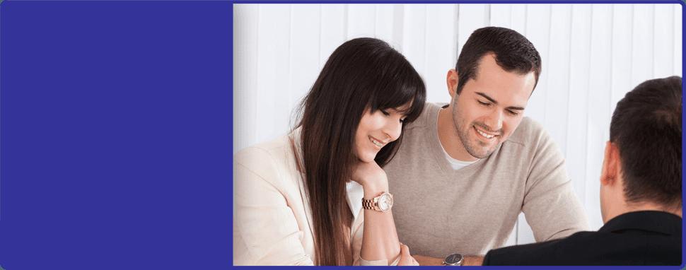 Couple shown services