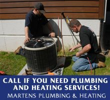 Heating Service - Clintonville, WI  - Martens Plumbing & Heating