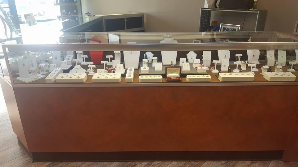 Jewelries display case