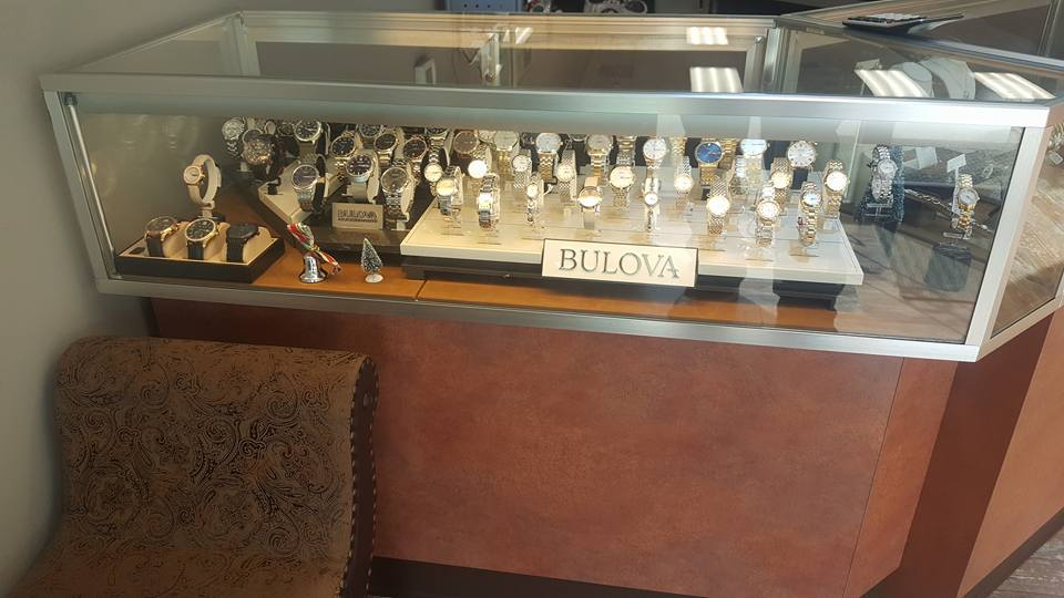 Watches display case