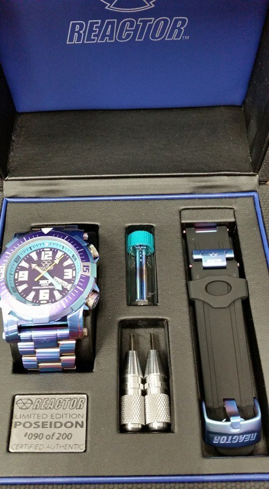 Reactor watch and accessories