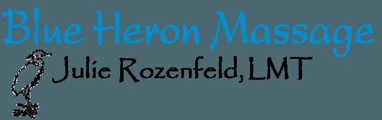 Blue Heron Massage - Logo