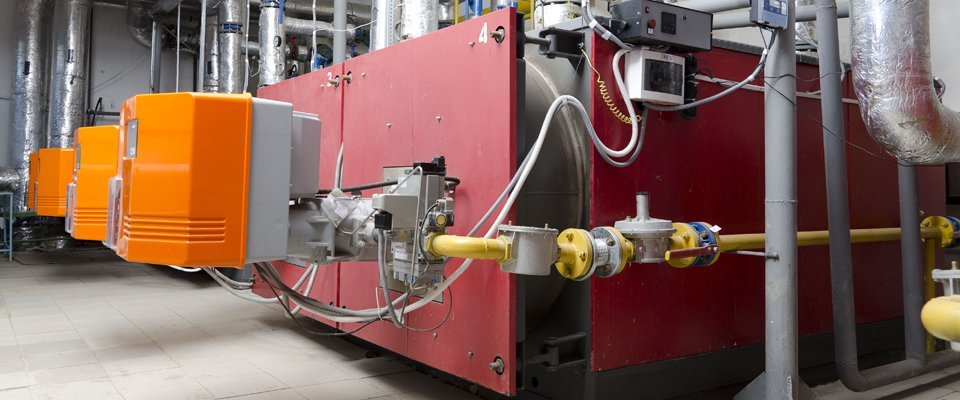 Commercial heating and cooling system