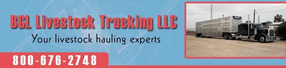 Hauling Service - Inwood, IA - BGL Livestock Trucking LLC