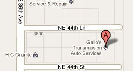 Gallo's Transmission Auto Service & Repair - 3721 NE 44th St., Ocala, FL 34479-2203