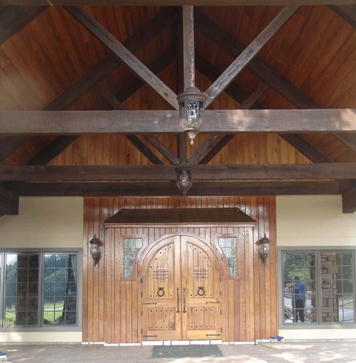 Large doorway