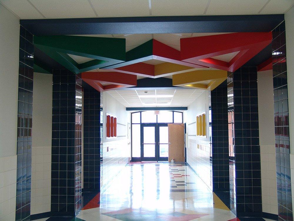 Huntington Elementary Corridor
