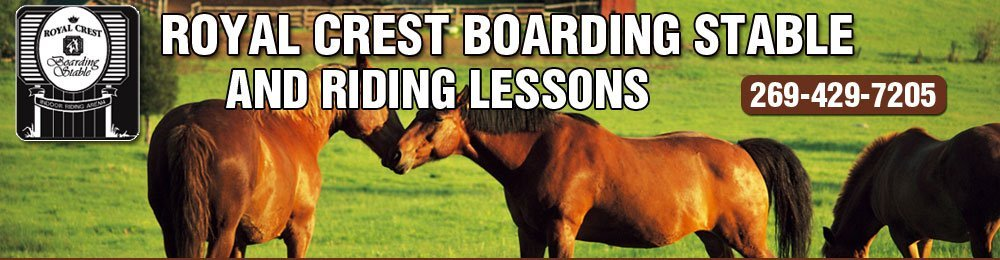 Stables and Lessons - Saint Joseph, MI - Royal Crest Boarding Stable And Riding Lessons