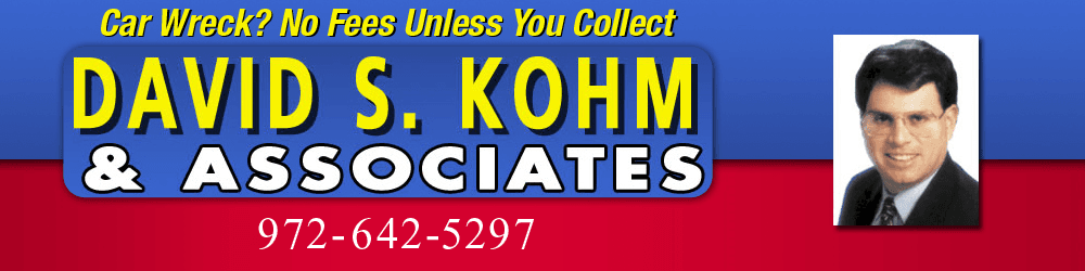 Personal Injury Attorney - Arlington, TX - David S. Kohm & Associates