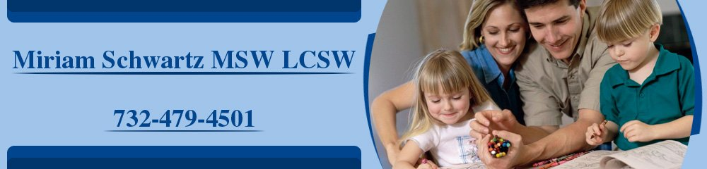 Counseling Services - Parlin, NJ - Miriam Schwartz MSW LCSW