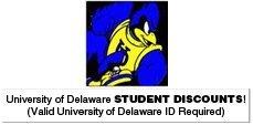 University of Delaware logo - Newark, DE - Anthony's Salon - University of Delaware STUDENT DISCOUNTS! (Valid University of Delaware ID Required