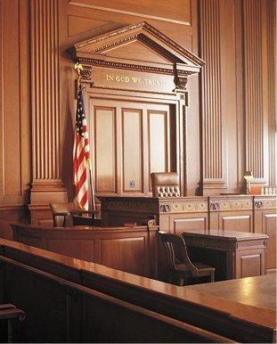 Inside law office