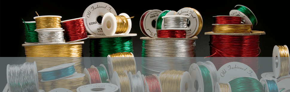 Old Fashioned Cord | Coventry, CT | National Ribbon Co. | 800-523-9324