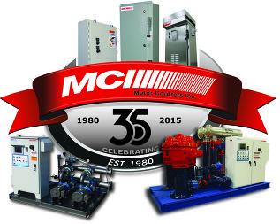 MCI 35 Year Logo