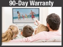 TV Repair Shop - Virginia Beach, VA - Bridge TV Repair Inc. - Plasma TV - 90-Day Warranty