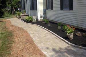 After Construction Edging