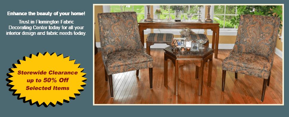 Contact | Flemington, NJ | Flemington Fabric Decorating Center | 908-782-5111
